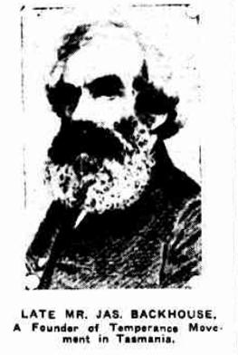 History of the Temperance Movement in Tasmania – The Nativist Herald